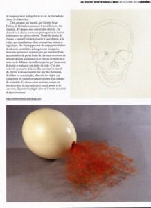 Article sur les cheveux, Gilles Béchet, Point d'interrogation, Victoire Magazine